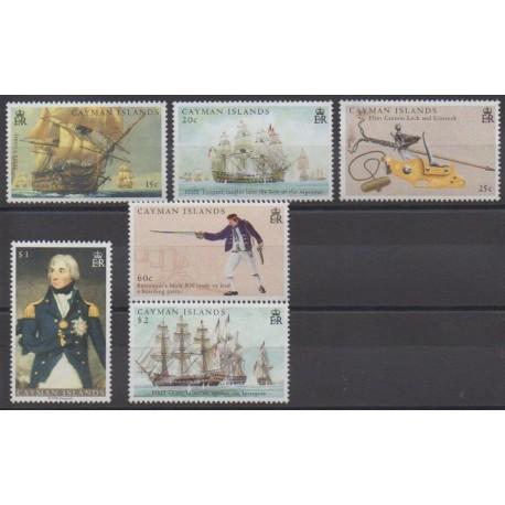 Caïmans (Iles) - 2005 - No 977/982 - Histoire - Navigation