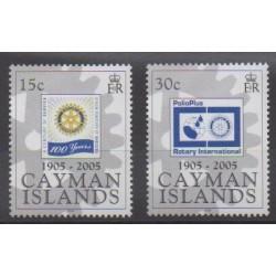 Cayman ( Islands) - 2005 - Nb 983/984 - Rotary or Lions club