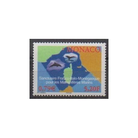 Monaco - 2000 - No 2287 - Environnement - Animaux marins