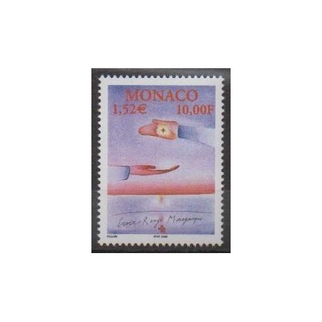 Monaco - 2000 - No 2256 - Santé ou Croix-Rouge
