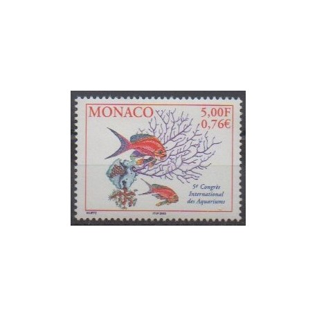 Monaco - 2000 - No 2271 - Animaux marins