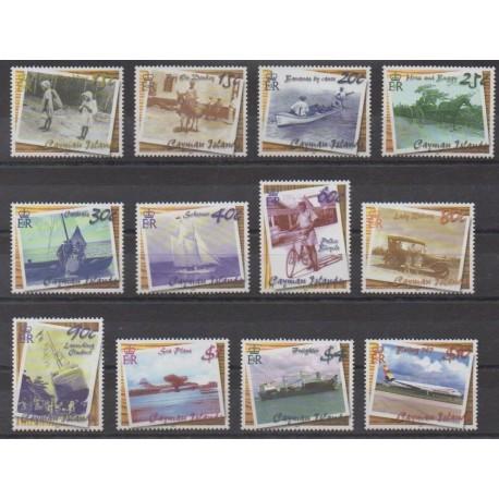 Caïmans (Iles) - 2001 - No 884/895 - Transports
