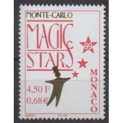 Monaco - 1990 - No 2219 - Cirque
