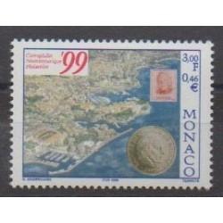 Monaco - 1999 - No 2218 - Monnaies, billets ou médailles