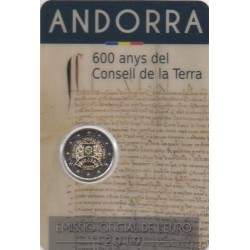 Andorre - 2019 - 600 ans du conseil de la terre