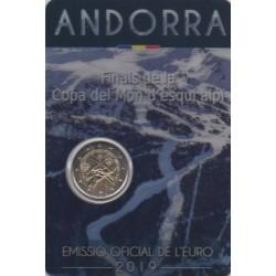 Andorre - 2019 - Coincard : Finales de la Coupe du monde de ski alpin
