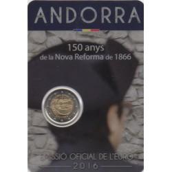 Andorre - 2016 - 150 ans du décret de la Nouvelle Réforme de 1866
