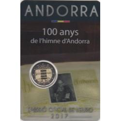 Andorre - 2017 - 100 ans de l'hymne d'Andorre