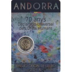 Andorre - 2018 - 70 ans de la déclaration universelle des Droits de l'Homme