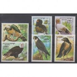 Cambodia - 1999 - Nb 1677/1682 - Birds
