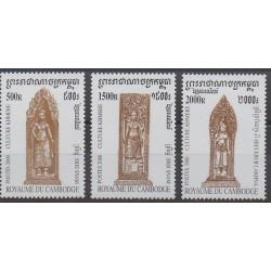 Cambodia - 2000 - Nb 1731/1733 - Art