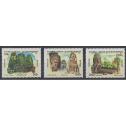 Cambodge - 2001 - No 1835/1837 - Tourisme