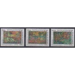 Cambodia - 2001 - Nb 1819/1821 - Art