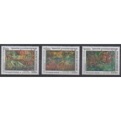 Cambodge - 2001 - No 1819/1821 - Art