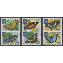 Cambodia - 2001 - Nb 1807/1812 - Insects - Philately