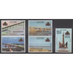 Cambodia - 2003 - Nb 1905/1909 - Bridges