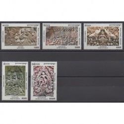 Cambodia - 2004 - Nb 1935/1939 - Art