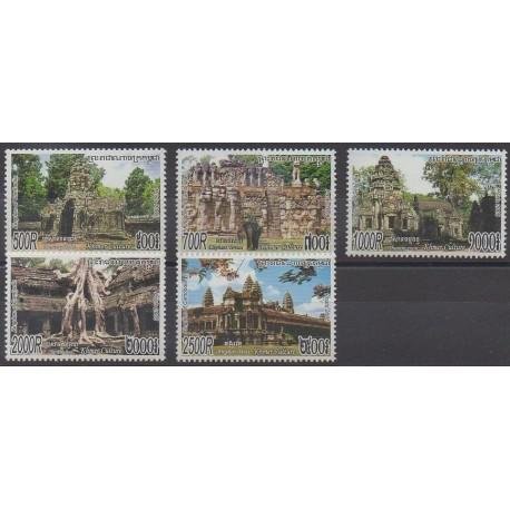 Cambodge - 2005 - No 1981/1985 - Monuments