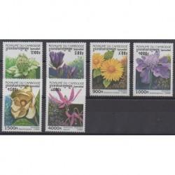 Cambodge - 1998 - No 1536/1541 - Fleurs