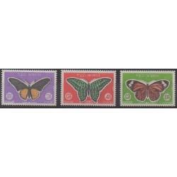 Cambodge - 1969 - No 225/227 - Insectes