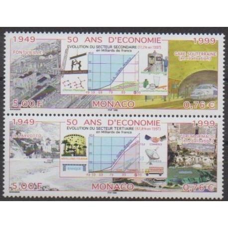 Monaco - 1999 - No 2205/2206