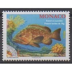 Monaco - Precancels - 2018 - Nb P117 - Sea animals