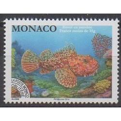 Monaco - Precancels - 2014 - Nb P116 - Sea animals