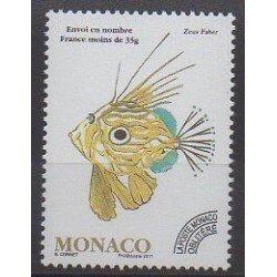 Monaco - Precancels - 2011 - Nb P115 - Sea animals