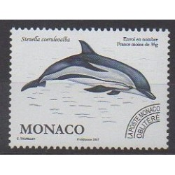 Monaco - Precancels - 2007 - Nb P114 - Sea animals - Mamals