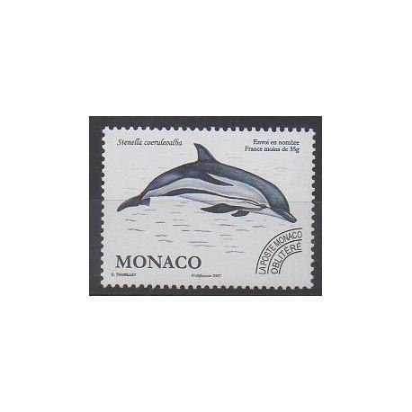 Monaco - Préoblitérés - 2007 - No P114 - Animaux marins - Mammifères