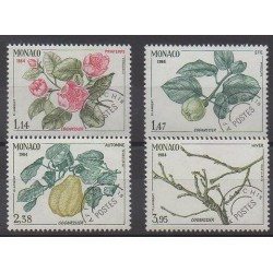 Monaco - Precancels - 1984 - Nb P82/P85 - Trees - Fruits or vegetables