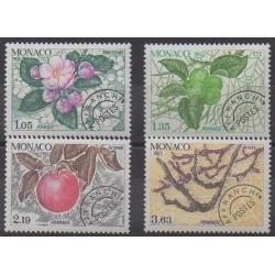 Monaco - Préoblitérés - 1981 - No P78/P81 - Arbres - Fruits ou légumes