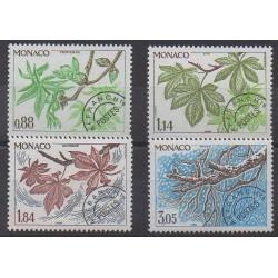 Monaco - Precancels - 1981 - Nb P70/P73 - Trees