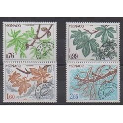 Monaco - Precancels - 1980 - Nb P66/P69 - Trees