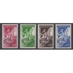 Monaco - Precancels - 1960 - Nb P19/P22