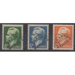 Monaco - Precancels - 1950 - Nb P8/P10