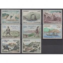 Monaco - Timbres-taxe - 1960 - No T56/T62