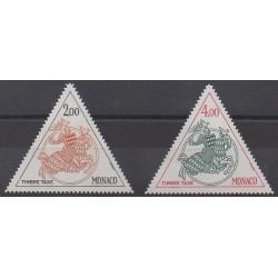 Monaco - Timbres-taxe - 1982 - No T71/T72