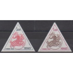 Monaco - Postage due - 1983 - Nb T73/T74