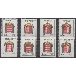 Monaco - Postage due - 1985 - Nb T75/T82