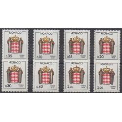 Monaco - Timbres-taxe - 1985 - No T75/T82