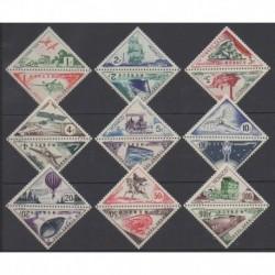 Monaco - Timbres-taxe - 1953 - No T39A/T55