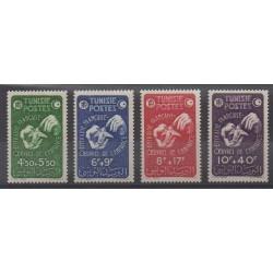 Tunisia - 1947 - Nb 320/323