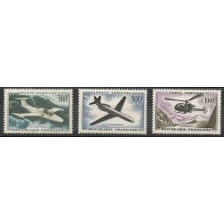 France - Airmail - 1957 - Nb PA35 / PA37