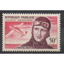 France - Airmail - 1955 - Nb PA34