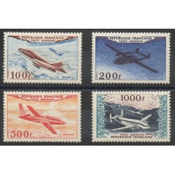 France - Airmail - 1954 - Nb PA30/ PA33