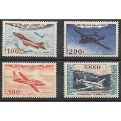 France - Airmail - 1954 - Nb PA30 / PA33