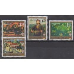 Bosnia and Herzegovina Serbian Republic - 2002 - Nb 246/249 - Paintings