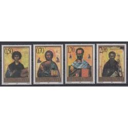 Bosnia and Herzegovina Serbian Republic - 1998 - Nb 107/110 - Religion - Paintings