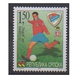 Bosnia and Herzegovina Serbian Republic - 2001 - Nb 206 - Football